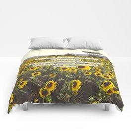 Jeremiah Sunflowers Comforters