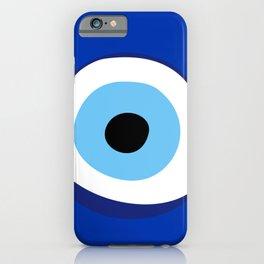 evil eye symbol iPhone Case