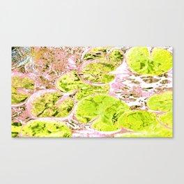 Waterlillies for Monet Canvas Print