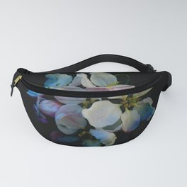 Evening pear flowers Fanny Pack