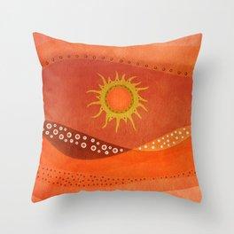 Color/Landscape 7 Throw Pillow