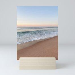 calm waves Mini Art Print