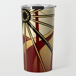 Old School Carnival Ferris Wheel Travel Mug