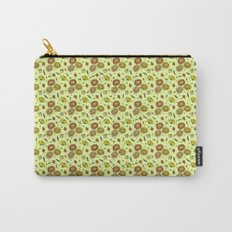 Cute Floral Carry-All Pouch