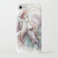 unicorn iPhone & iPod Cases featuring Unicorn by beart24