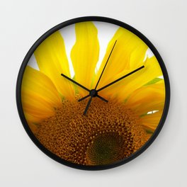 My Mother's Sunflowers Wall Clock