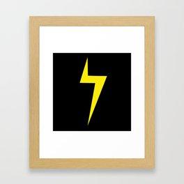 Kamala Khan Symbol Framed Art Print