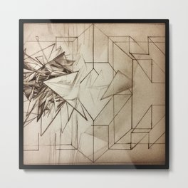 Existential Breakthrough Metal Print