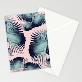 Fan Palm Leaves Paradise #8 #tropical #decor #art #society6 Stationery Cards