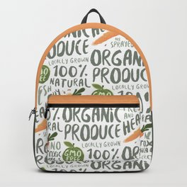 Organic Produce Backpack