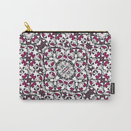 Vibrant Exotic Boho Ornate Pattern Carry-All Pouch