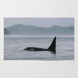 Wild Orca Rug