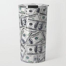 Hundred dollars bills Travel Mug