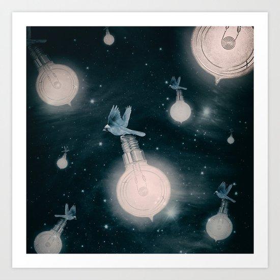 Light the Universe Art Print