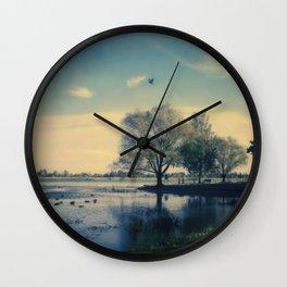 Lake Wendouree Wall Clock