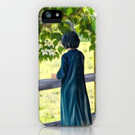 Little Amish Girl iPhone Case