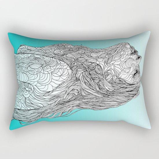 Sketch of Tender Hope Rectangular Pillow