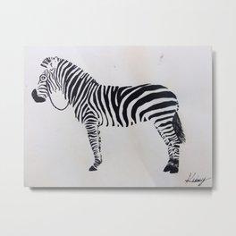 Seeing Stripes Metal Print