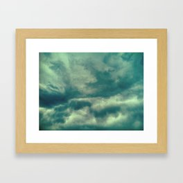Cloudy Days, CO, 2011 Framed Art Print