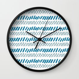 inverse_line Wall Clock