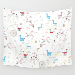 Merry-go-round Wall Tapestry