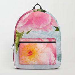 Vibrant Bouquet with filters Backpack