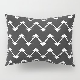 Jute in Black and White Pillow Sham
