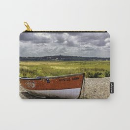 Boat at Cley next to the sea  Carry-All Pouch