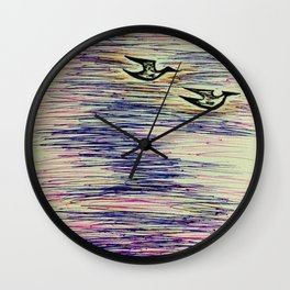 Sleepless Nights Wall Clock