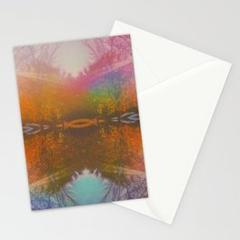 Landscape Remix Stationery Cards