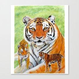 Keisha Tiger Canvas Print