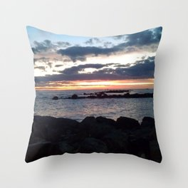 jetty nights Throw Pillow