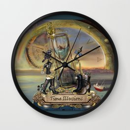 Time IIlusions Wall Clock