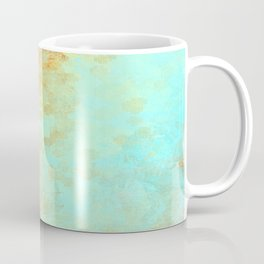 Earth and Water Abstract Coffee Mug