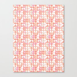 Graphic geometric chevron arrow stripes Canvas Print