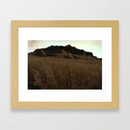 A Thought About the Wind Framed Art Print