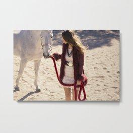 Horse 2 Metal Print