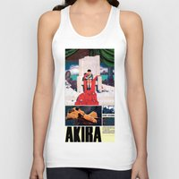 manga Tank Tops featuring Manga 05 by Zuno