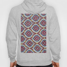 Floral Fabric Vintage Material Hoody