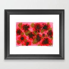 November Framed Art Print