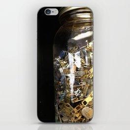 Zippers iPhone Skin