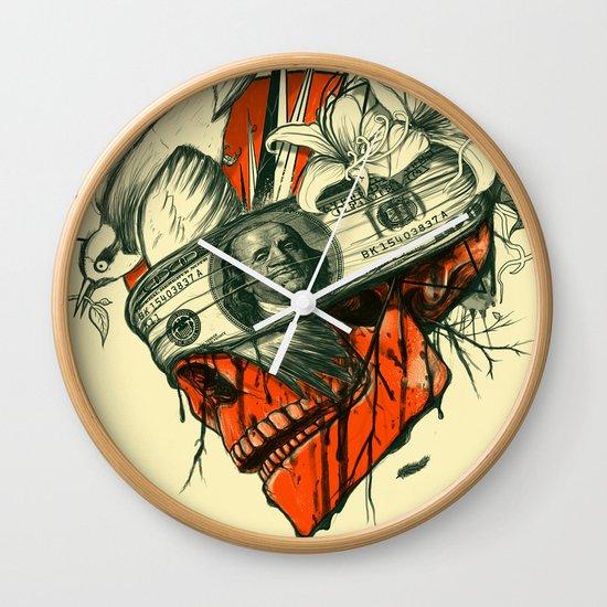 Blind Wall Clock