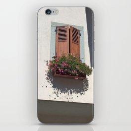 Alpine Village Window Flower Box iPhone Skin
