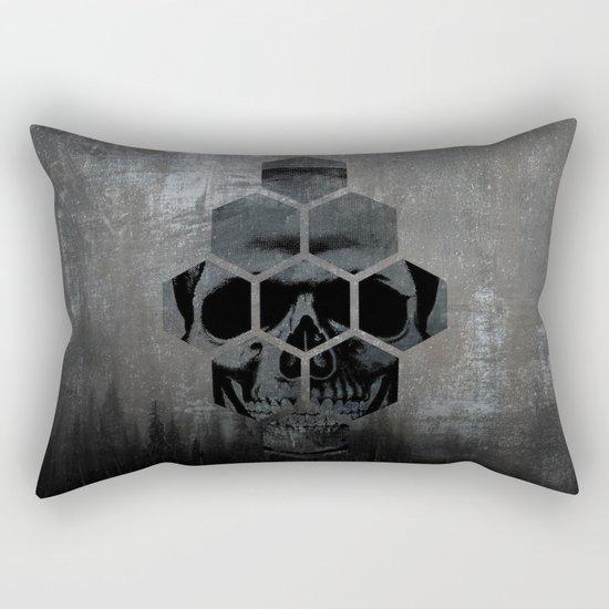 Skull texture Rectangular Pillow