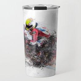 High Speed Motorcycle Racer Travel Mug