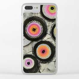 Flowers #2 Clear iPhone Case