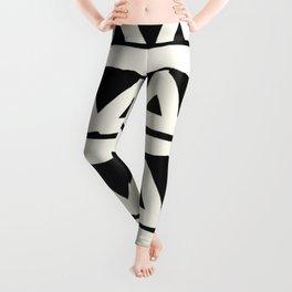Tribal Chevron Stripes Leggings