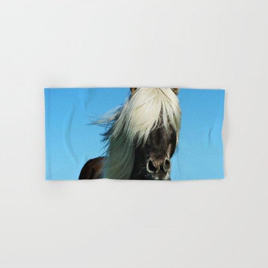 Wild Vision #societ6 #art #prints // Wildife Horse Photography Hand & Bath Towel