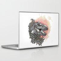 dinosaur Laptop & iPad Skins featuring Dinosaur by Gemma Goode