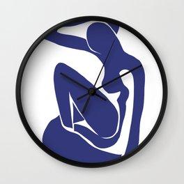 Matisse Cut Out Figure #1 Wall Clock